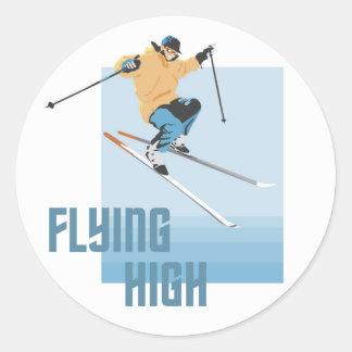 Flying High Sticker