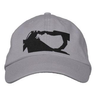 Flying High Stunt Dirt Bike Embroidered Hat