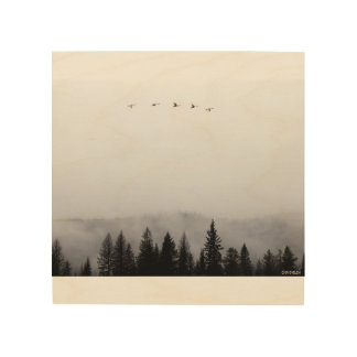 """Flying high"" Wood Wall Art"