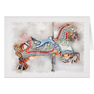 Flying Horse of Venice Card