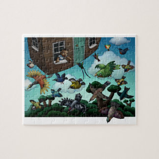 Flying House Jigsaw Puzzle