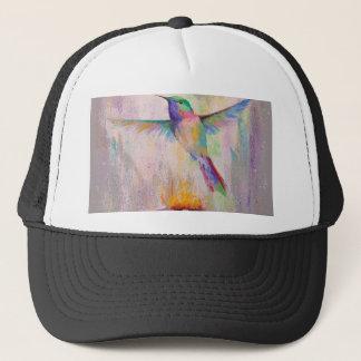 Flying Hummingbird Trucker Hat
