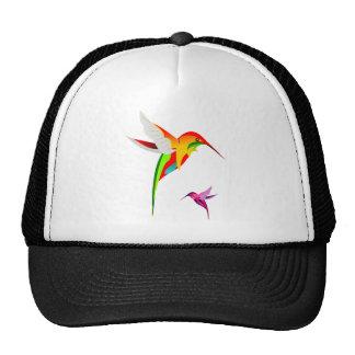Flying Hummingbirds Trucker Hats