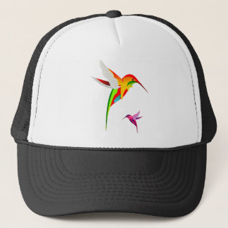Flying Hummingbirds Trucker Hat