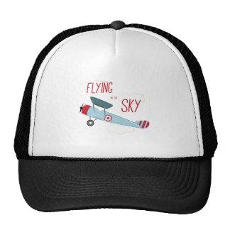 Flying in the Sky Cap