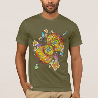 Flying infinity shirt.psychedelic butterfly. T-Shirt