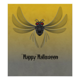 Flying Insect Poster