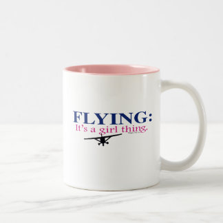 FLYING IT S A GIRL THING by Flying Diva Mary Ford Mugs