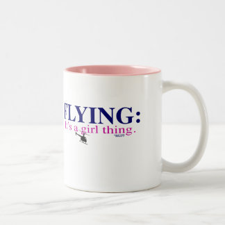 FLYING IT S A GIRL THING by Flying Diva Mary Ford Coffee Mugs