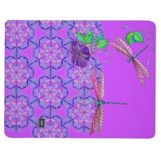 FLYING JOURNAL~ Dragonfly Journey Flower of Life Journal