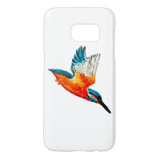 Flying Kingfisher Art