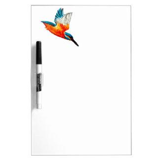 Flying Kingfisher Art Dry Erase Board