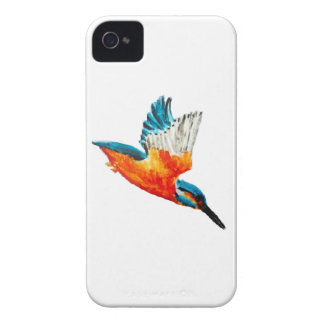 Flying Kingfisher Art iPhone 4 Case