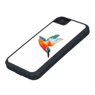 Flying Kingfisher Art iPhone 5 Cases