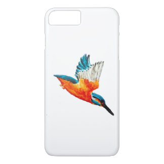 Flying Kingfisher Art iPhone 8 Plus/7 Plus Case