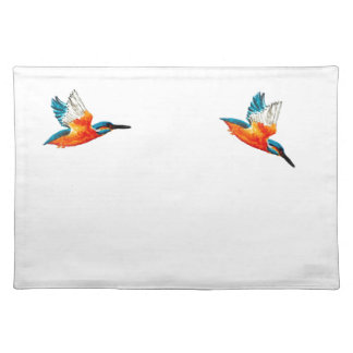 Flying Kingfisher Art Placemat