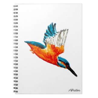 Flying Kingfisher Notebook