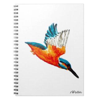 Flying Kingfisher Notebooks