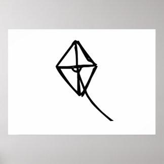 Flying Kite Print