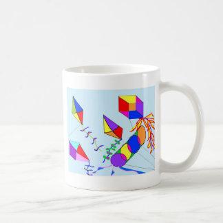 flying-kites coffee mugs