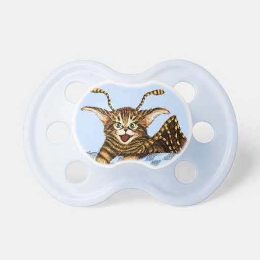 Flying Kitten Baby Pacifier