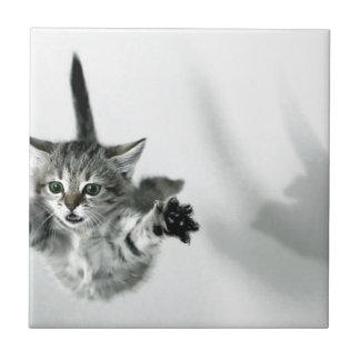 Flying kitten tile