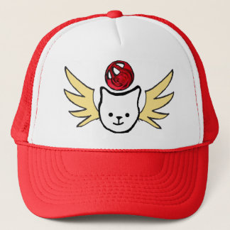 flying kittens trucker hat
