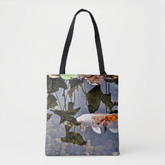 Flying Koi Tote Bag
