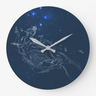 Flying Lady Large Clock