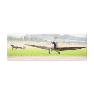 Flying Legends Canvas Print