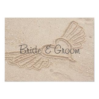 Flying Love wedding invitation