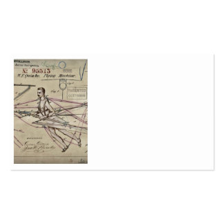 Flying Machine Glider Patent Pack Of Standard Business Cards