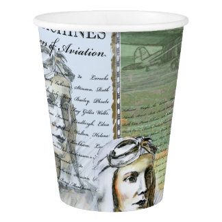 """""""Flying Machines"""" Paper Cup, 266 ml Paper Cup"""