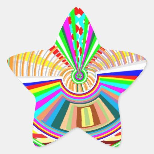 Flying Magical Carpet n 12 Decorative Designs Star Sticker