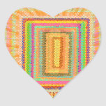 Flying Magical Carpet n 12 Decorative Designs Heart Stickers