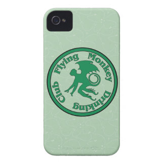 Flying Monkey Drinking Club iPhone 4 Case-Mate Cases