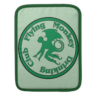 Flying Monkey Drinking Club Sleeves For iPads