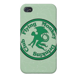 Flying Monkey Drinking Club iPhone 4/4S Cases