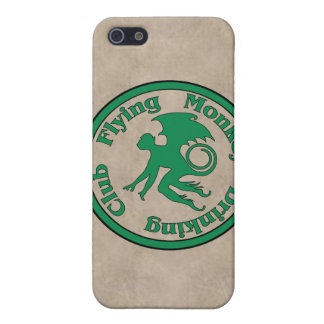 Flying Monkey Drinking Club iPhone 5 Covers