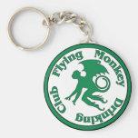 Flying Monkey Drinking Club Key Chain