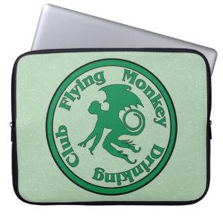 Flying Monkey Drinking Club Laptop Sleeves