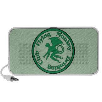 Flying Monkey Drinking Club Mp3 Speakers