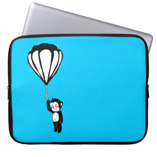 flying monkey : hot air balloon computer sleeves