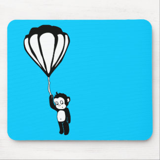 flying monkey hot air balloon mouse pads