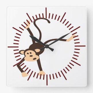 Flying Monkey Wallclocks