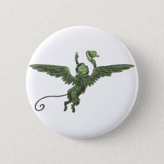 Flying Monkey, Wizard of Oz 6 Cm Round Badge