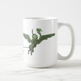 Flying Monkey, Wizard of Oz Basic White Mug