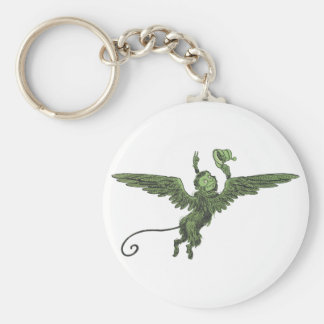 Flying Monkey, Wizard of Oz Key Ring
