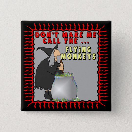 Flying Monkeys Buttons