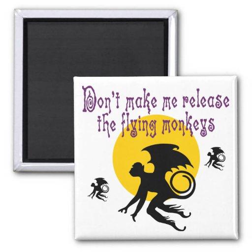 Flying Monkeys Magnet Magnets